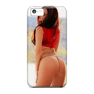 Premium Tattoo Girl Back Cover Snap On Case For Iphone 5c