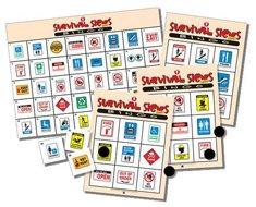 Pci Educational Publishing Indoor Survival Signs Bingo -