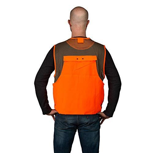 TrailCrest Mens Blaze Orange Safety Deluxe Front Loader Vest, 3X by TrailCrest (Image #6)