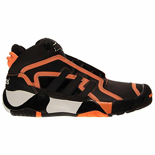 Chaussures De Basket Adidas Streetball 2 Hommes Noir / Blanc / Lueur Orang