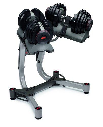 Bowflex Adjustable Dumbbells Used: Bowflex SelectTech 552 / 1090 Dumbbell Stand