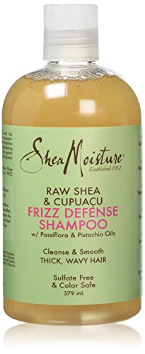 Raw Shea & Cupuacu by Shea Moisture Frizz Defense Shampoo 379ml