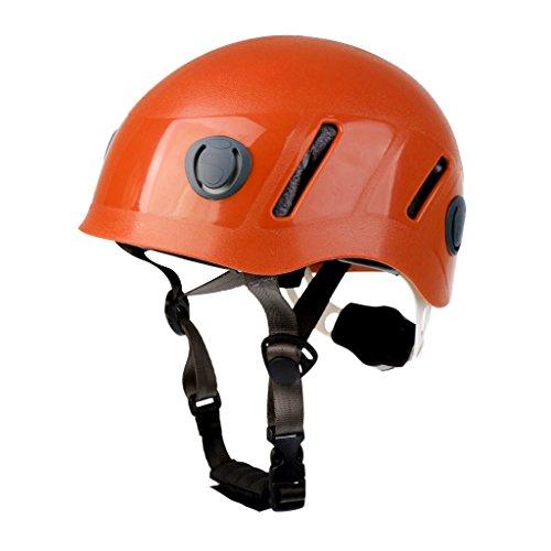 Fityle 1 Pedazo Casco de Escalada Elegante Unisexo Deportivo Compatible para Niños Pequeños Color Rojo