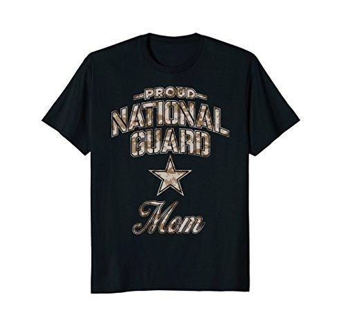 National Guard Mom Shirt for Women (Camo)
