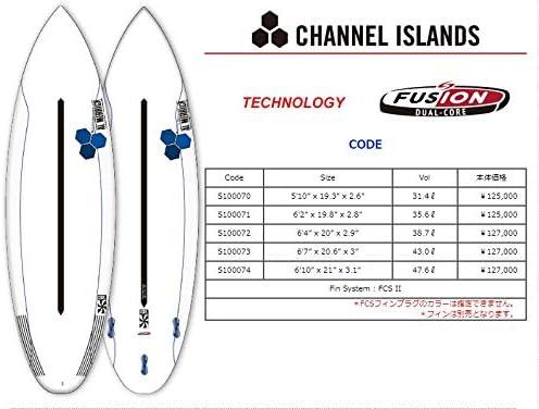 CHANNEL ISLAND(チャネルアイランド) AL MERRICK CODE モデル サーフボード 6'4