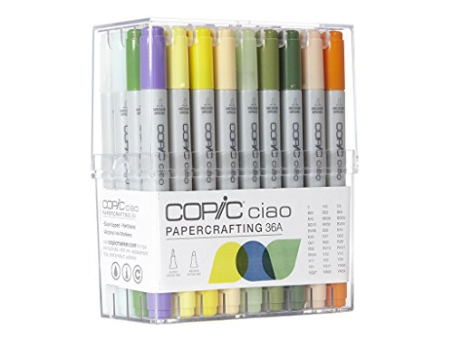 - Copic Ciao Marker Set 36A Papercrafting Color