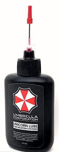 Umbrella Corporation Unicorn Lube for Weapon Systems, Gun Oil (2oz.)