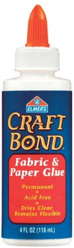 Elmers Craft Bond Fabric & Paper Glue-4 Ounces 1 pcs sku# 654750MA