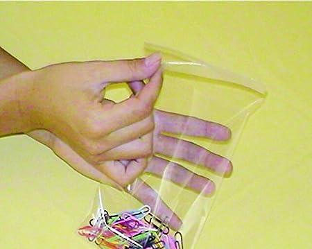Bolmastic Borsa in polipropilene con chiusura adesivo di 11/x 16/cm 11 x 16 cm trasparente