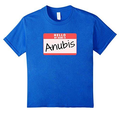 Hello My Name is Anubis Halloween Egyptian God Costume Shirt