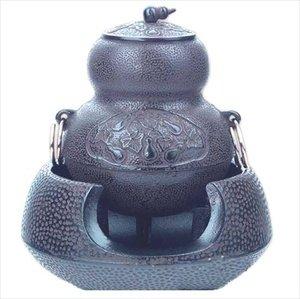 JapanBargain S-2550, Japanese Tea Ceremony Tetsubin Chagama Cast Iron Teapot by JapanBargain
