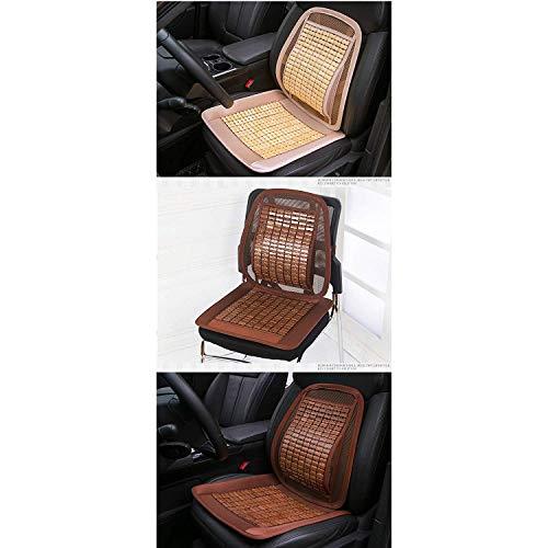 Lqqzq Cushion Summer Car Seat, Breathable Mahjong Mat Car Seat Office Seat Cushion Cushion (Color : Brown) by Lqqzq (Image #1)