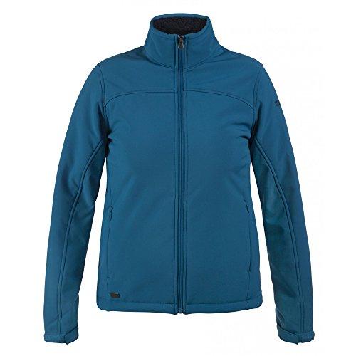 Regatta Womens/Ladies Tulsie Sherpa Backed Windproof Softshell Jacket Blackberry Wine