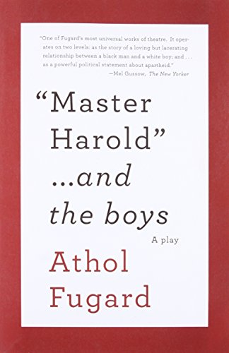 Price comparison product image Master Harold and the Boys: A Play (Vintage International)
