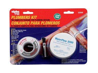 alpha fry AM53949 Cookson Elect Plumber's Solder - Solder Plumbing Copper
