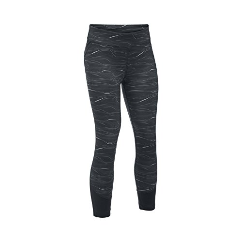 Under Armour Girls' Studio Novelty Capris, Black/Black, Youth Small