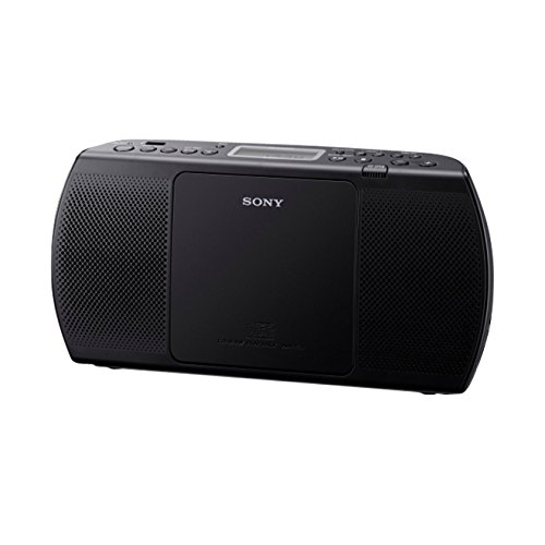 Sony ZS-PE40CP portabler Player (Radio/MP3/CD-Player, UKW-Tuner, USB) schwarz