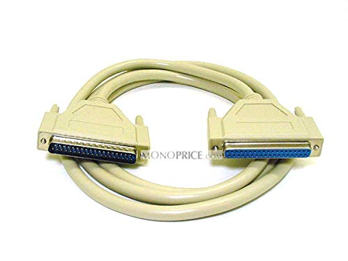 (Monoprice 100514 6-Feet DB37 M/F Molded Cable)
