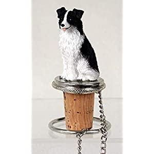 Conversation Concepts Border Collie Bottle Stopper 21