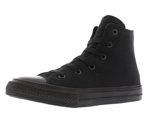 Converse Chuck Taylor All Star Ii Hi Sneaker Kid's Shoes Size 12 Black -