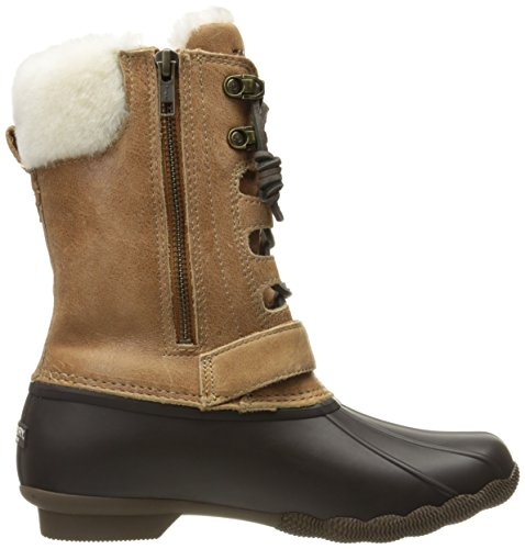 Natural Brown Misty Thinsulate Women's Sperry Sider Saltwater Boot Rain Top 8qwnIOz