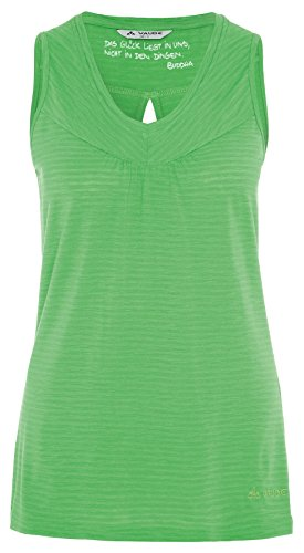 VAUDE Top Women's Skomer - Top interior térmico para mujer verde
