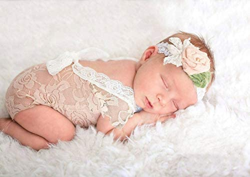 Neugeborenen niedlichen Baby Mädchen Fotografie Prop Weste Strampler mit