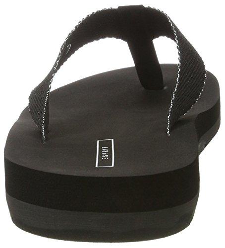 Esprit Thongs Tongs Femme Neva Noir 001 Black 00pqrfv