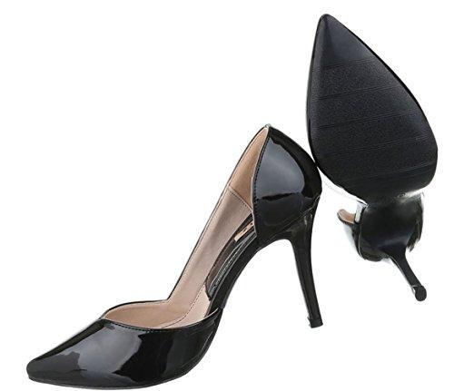 Damen Schuhe Sandaletten Pantoletten Pumps Mules Grau 36 0NXi4vxZN8