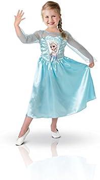 Frozen - Disfraz Elsa Classic, para niños, 5-6 años (Rubies 889542-M)