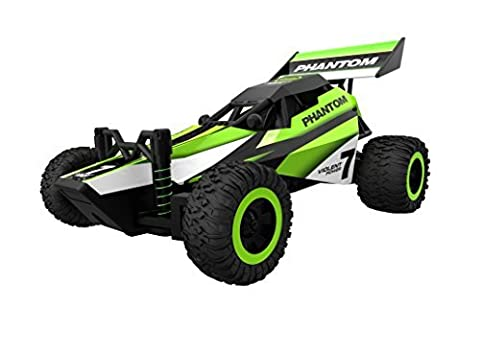 ToyPark 2.4GHz Remote Control Racing Car High Speed Vehicle with Spring Shock Absorbers - Top Fuel Exhaust