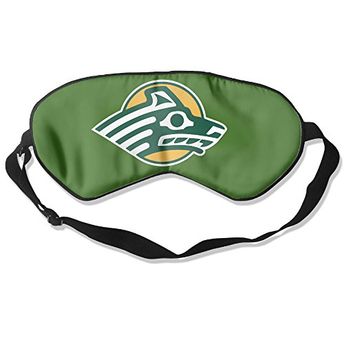 Alaska Anchorage Seawolves Logo Sleeping Masks Cover Shade (Costumes Anchorage)