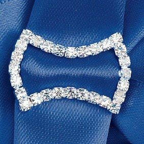 DIAMANTE BOW RIBBON BUCKLE FROM CLUB GREEN