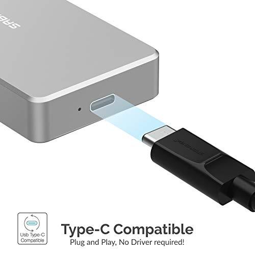 Sabrent Rocket Pro 1TB NVMe USB 3.1 External Aluminum SSD (SB-1TB-NVME) by Sabrent (Image #5)