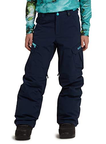 Burton Boys' Exile Cargo Snow Pant, Dress Blue, Small Blue Kids Snowboard Boots