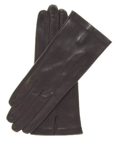 Fratelli Orsini Women's Italian Unlined Leather Gloves Size 7 Color Brown