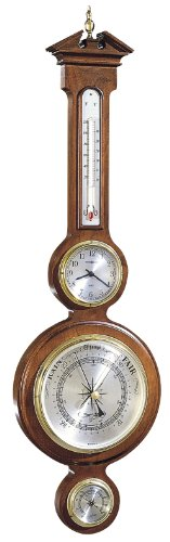 Howard Miller 612-718 Catalina Weather & Maritime Wall Clock (Howard Miller Barometer)