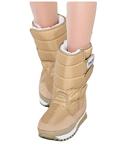 Oversize Weather King Cold Snow Boot Winter Ma Warm Women's Fashion Khaki HYqUZ4Fq