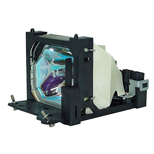 Hitachi MVP-3530 Projector Housing with Genuine Original OEM Bulb