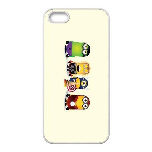 R0F15 Avengers V2N2JK coque iPhone 4 4s de couverture de téléphone portable de coque blanche KL3WKB3NC