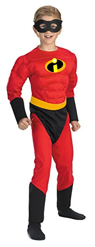Mr Incredible Muscle 4 To 6 Child Kids Boys (Mr Incredible Muscle Costumes)