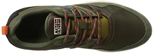 Optima Sneaker N730 Uomo Olive FOOTWEAR Verde NAPAPIJRI Dark p6Bxq1wE5