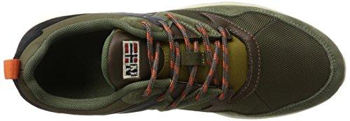 Optima NAPAPIJRI Verde Olive Uomo Sneaker Dark FOOTWEAR N730 HU8nnzqwOF