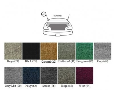 Covercraft Custom Fit Floor Mat for Select Chevrolet Sonic Models -  Carpet (Taupe)