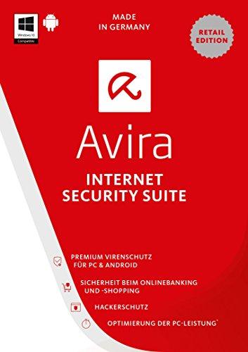 Avira Internet Security Suite 2017 (4 Geräte / 1 Jahr)