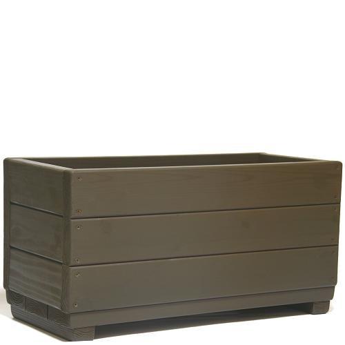 Welcome wood 大型エクステリアプランター深型タイプ EPWD66-UB 置くだけですてきに演出!お客様をお迎えするお花たちのために!容量約37.2リットル B004ESAJNW  (UB)アンバーブラウン 66x29x33