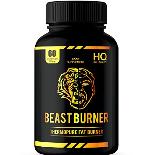 Beast Burner| Thermo Formula | Supports Weight Loss | Green Tea Extract | Appetite Stabiliser | GMP Approved and UK…