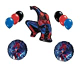 The Amazing Spiderman Movie Balloon Mylar Latex Set 9 Party Birthday Superhero