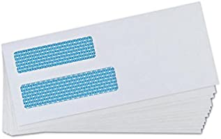 Double Window Security Business Mailing Envelopes for Invoices and Legal 2019
