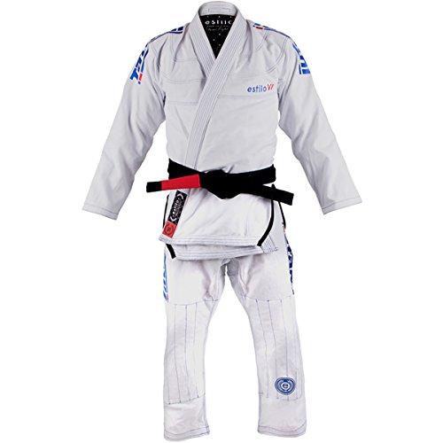 Tatami Fightwear Estilo 6.0 Premium BJJ Gi - A2 - White/Cobalt Blue